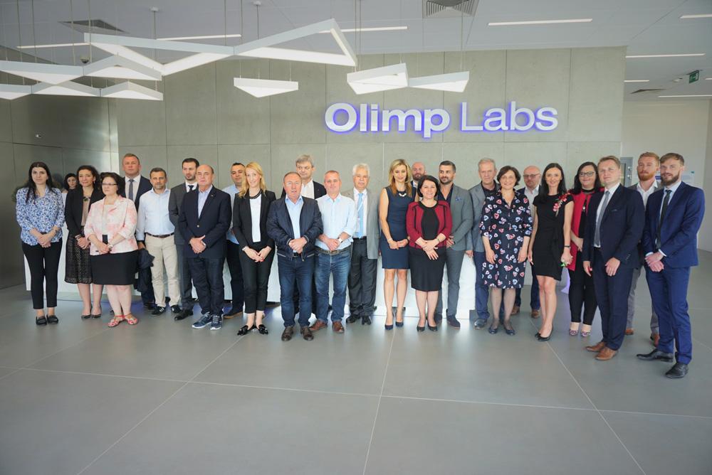 Wizyta ministrów krajów Bałkańskich w Olimp Labs